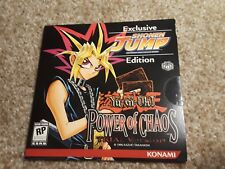 Yugioh Exclusive Shonen Jump Power of Chaos Trial Version (PC, 1996) New