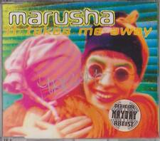 MARUSHA It Takes Me Away CD 1994 Signiert Dance Rave Classic * RARE