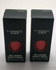 MAC Studio Nail Lacquer Vernis A Ongles - Impassioned - .34 oz 2pk