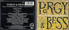 CD 15T ELLA FITZGERALD AND LOUIS ARMSTRONG PORGY AND BESS MADE IN USA TBE