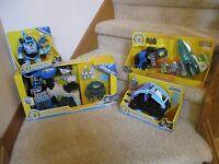 Fisher Price Imaginext NEW ultimate set Batman Mr.Freeze Headquarters Robot Jet