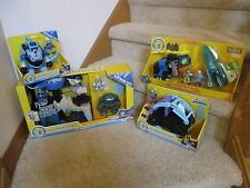 Fisher Price Imaginext NEW ultimate set Batman Mr.Freeze Headquarters Robot Jet