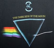 Pink Floyd Dark Side of the Moon Prism Album Cover Black small T-shirt Authentic