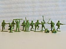 Japanese Toy Soldiers Lot (13)  Made in China