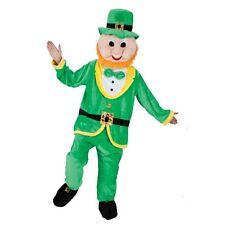 Leprechaun Mascot Adult Unisex Party Costume Fancy Dress Irish St Patricks Day