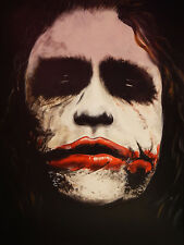 CANVAS Why So Serious by Ed Capeau 16x12 Gallery Wrap Art Print The Joker