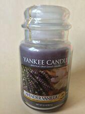 Yankee Candle Lavender Vanilla Large Jar 623g Sealed