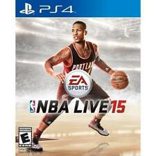 NBA LIVE 15 SONY PLAYSTATION 4 PS4 2014 VIDEO GAME BRAND NEW, FACTORY SEALED