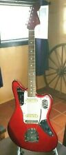 Fender Jaguar Candy Apple Red W/matching headstock, Made in Japan