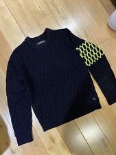 USED Replay jumper wool knitwear black Small S