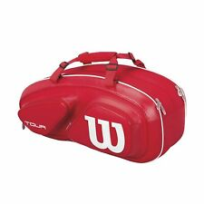 Wilson Tour V 6 Pack Thermoguard Tennis Bag (Red) Wrz847606