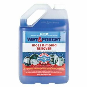 Wet and Forget Exterior Mould Grime and Lichen Remover 5lt concentrate