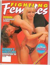 Fighting Females Wrestling Magazine Diva's /Women's Wrestling /Robin Spring 1998