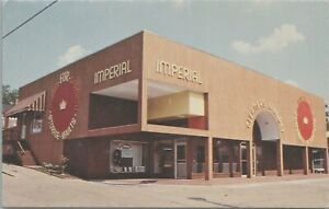 Imperial Cleaners & Laundry Meridian Mississippi Vintage Postcard - Unposted