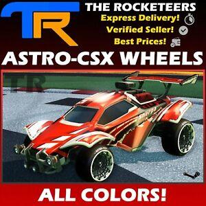 [PC] Rocket League Every Painted ASTRO-CSX Very Rare Wheels Auriga Series New