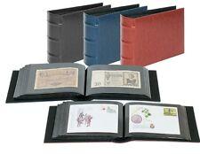 Lindner  Album für 108 Banknoten, Briefe, Fotos, Postkarten oder FDCs  in blau
