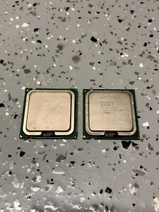 Lot of TWO (2) Intel Celeron D 331 2.66ghz CPU Processors