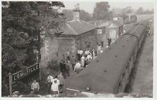 RP B&W view of Longville Station, Shropshire (closed 1951)