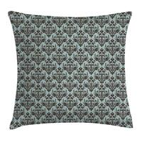 Boho Damask Throw Pillow Cases Cushion Covers Home Decor 8 Sizes Ambesonne