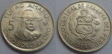 Peru 5 Sohlen de Oro 1977