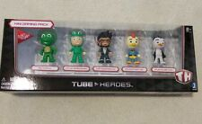 TUBE HEROES MINI Gaming Pack New Sealed 5 Figures Tiny Turtle Capt Sparklez