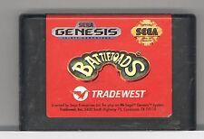Sega Genesis BATTLETOADS RED TRADEWEST LABEL RARE Video Game Cartridge