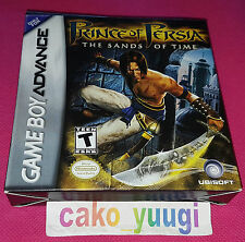 PRINCE OF PERSIA THE SANDS OF TIME GBA NINTENDO GAME BOY ADVANCE USA