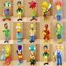 Misc - The Simpsons Character Hard Rubber / Plastic Character Figures - Various