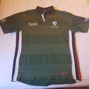 London Irish 2001 Home Rugby Shirt Kooga XL (50 inch chest)