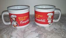 Campbells 2004 Soup Mugs / # 31389 / Set of 2