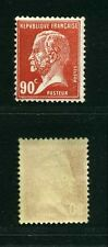 "FRANCE STAMP TIMBRE N° 178 "" TYPE PASTEUR 90 c ROUGE "" NEUF xx TTB"