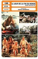 FICHE CINEMA : LE JOUR DE LA FIN DU MONDE - Newman,Bisset 1988 When Time Ran Out