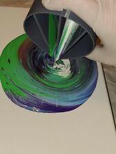 Acrylic Paint Pouring Split Cup - 4 Channels - Fluid Pour Supplies