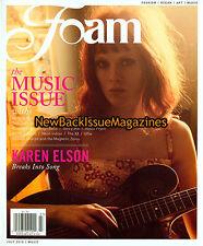 Foam 7/10,Karen Elson,July 2010,NEW
