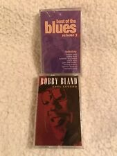 NEW / SEALED: BOBBY BLAND-SOUL LEGEND/BEST of the BLUES 3~Cassettes: 2 Tapes BIN