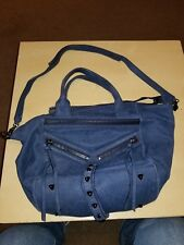 Botkier Trigger Shoulder Bag Dusty Blue buttery soft Leather purse satchel
