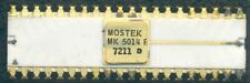 Early MOSTEK MK 5014 P Calculator Chip IC 40-Pin Ceramic Gold 1972 NOS 2 Styles