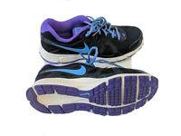 Nike Revolution 2 Womens US 8 EUR 39 Black Purple Running Shoes