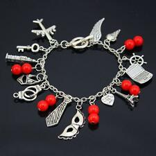 Fifty Shades of Grey Inspired Charm Bracelet Colorful Bracelet 50 Shades Of Grey