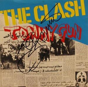 JOE STRUMMER Signed 'Tommy Gun' Handbill - Punk Rock Star THE CLASH - preprint