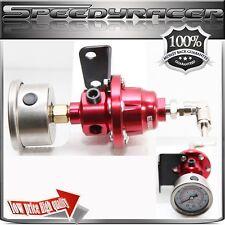 Type-S RED Adjustable Fuel Pressure Regulator with FREE oil Gauge