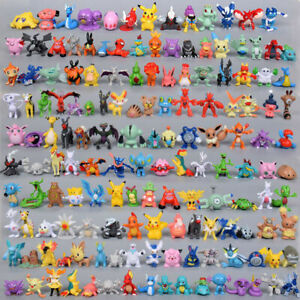 New 24pc/144pc Pokemon Action Figures Pockit Monster Toys Kids Presents Gifts UK