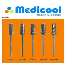 Medicool - 3-IN-1 TAPERED Cone Carbide 3/32 Shaft - 5 GRITS AVAILABLE