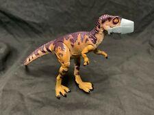 (1997) 90's original JURASSIC PARK injured baby T-rex dinosaur action figurine