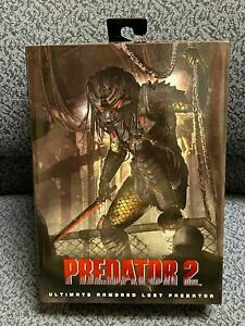 "NECA PREDATOR 2 - Ultimate Armored Lost Predator NEW 7"" Action Figure"