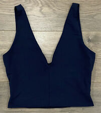 EUC Women's Sz 1 (10) KOOKAI V Neck Crop Top