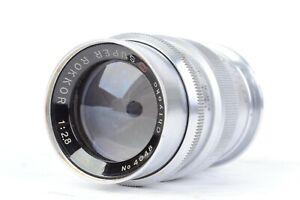 Chiyoko (Minolta) SUPER ROKKOR (C) 8.5cm f/2.8 Lens for LTM L39  *HAZE*  #P4048