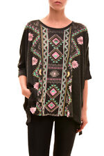 Wildfox Women's Sunny Morning Desert T-shirt Clean Black Size XS RRP £62 BCF712