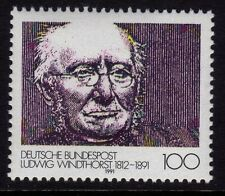Germany 1991 Death of Ludwig Windthorst, Politician SG 2356 MNH