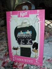 Ken Fashion Avenue Nrfb #14676 1995 Barbie Mattel